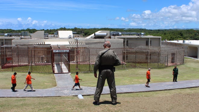 The Department of Corrections' prison in Mangilao as photographed in July 2013.