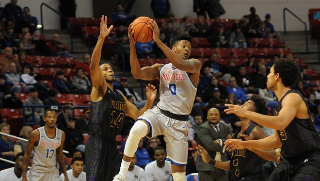 Louisiana Tech guard Alex Hamilton is earned first-team All-Conference USA honors on Monday.