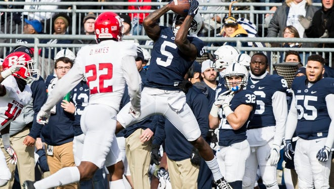 It seems Penn State's offense now depends on QB Trace McSorley trying to get receiver Daesean Hamilton killed.