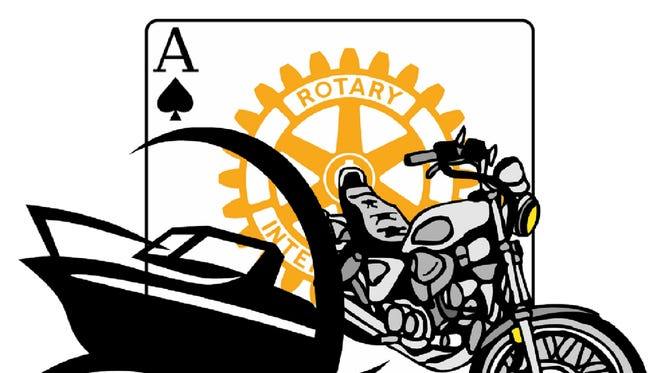 Rotary Club of the Twin Cities hosts the sixth annual River and Road Poker Run on Saturday.