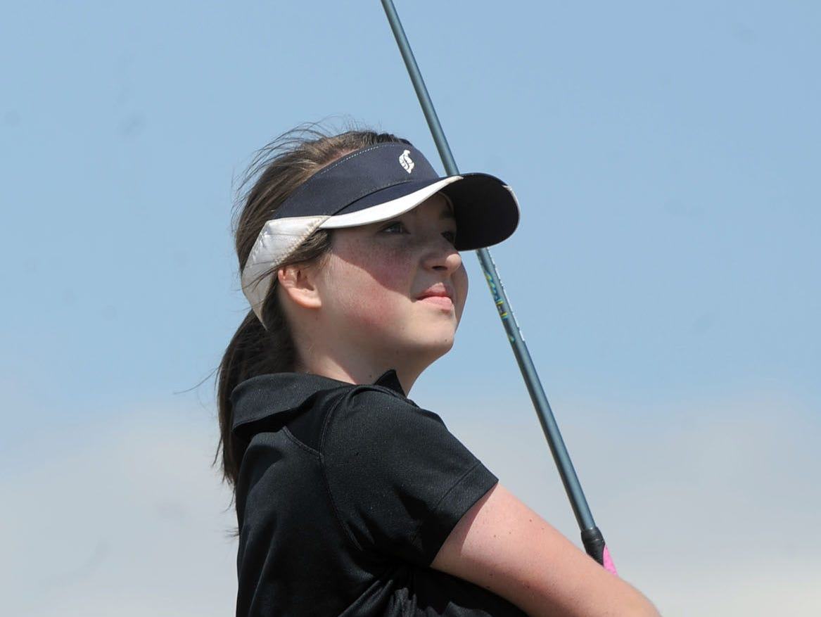 Fossil Ridge's Abbey Cosper is one of the returning golfers for the SaberCats this season.