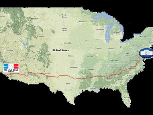 Race Across USA