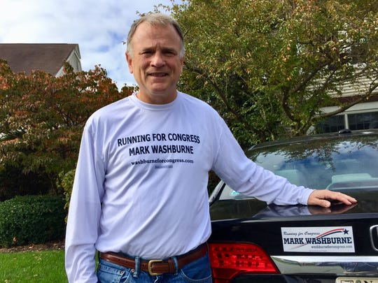 Mendham's Mark Washburne is running for Rodney Frelinghuysen's 11th District seat in the 2018 election.