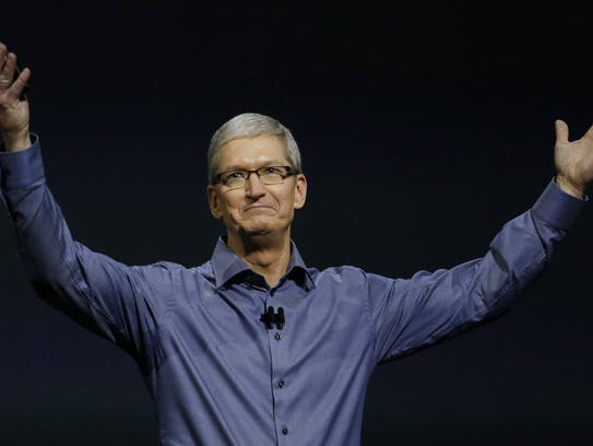 Apple CEO Tim Cook has taken a firm stand against an