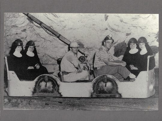 In this 1956 photo, Sisters Sharon, Cleta, Maxine and