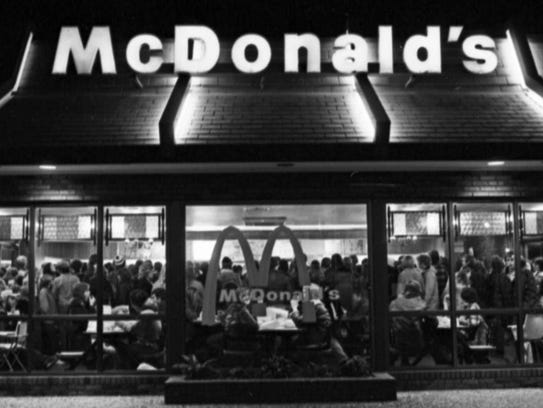 IU basketball fans won free McDonald's after the Hoosiers