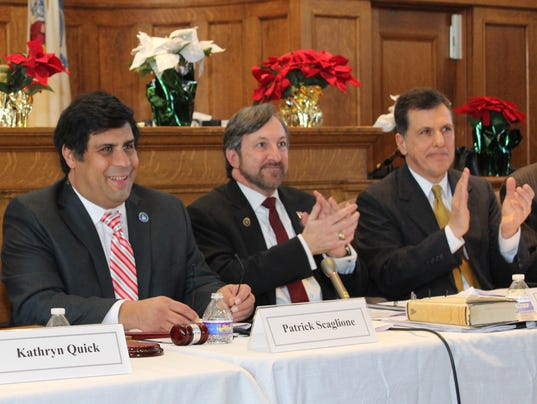 Board holds reorganization meeting PHOTO CAPTION