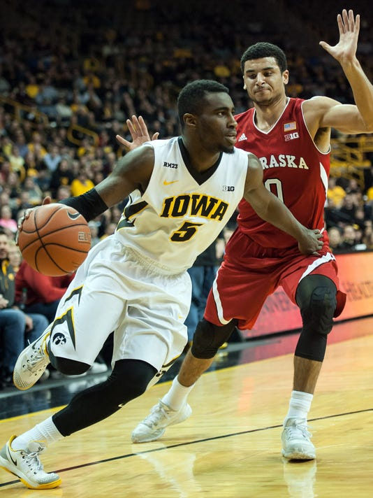 NCAA Basketball: Nebraska at Iowa