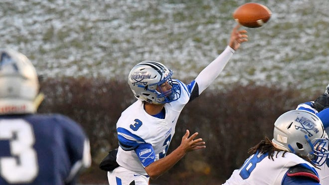 Robert E. Lee's Jayden Williams, the All-City/County Player of the Year, threw for 2,406 yards and 27 touchdowns this season.