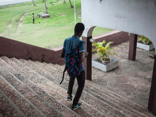Take Ajiboye, a 19-year-old student at the University