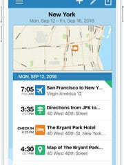 TripIt helps you organize all your travel information in one place