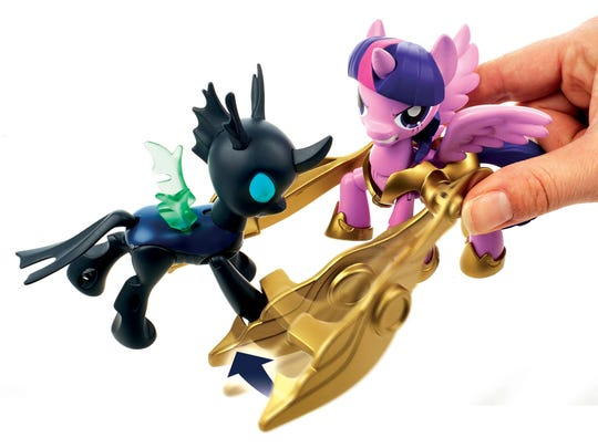Changeling and Twilight Sparkle come together in a