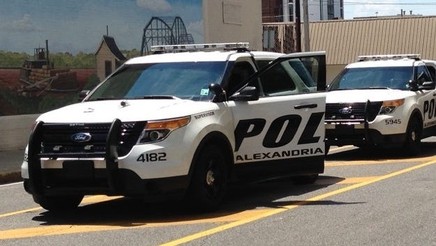 Two Alexandria residents who told police that they had been robbed Tuesday actually made up the tale and ended up being arrested themselves, according to a release.