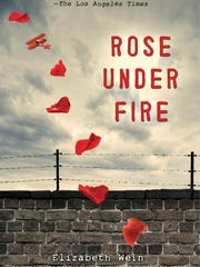"""The cover of the book """"Rose Under Fire."""""""