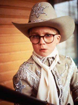 Peter Billingsley in a scene from the holiday classic 'A Christmas Story,' which TBS will air for 24 hours straight -- for the 17th year in a row -- beginning Christmas Eve at 8 p.m. ET/PT.