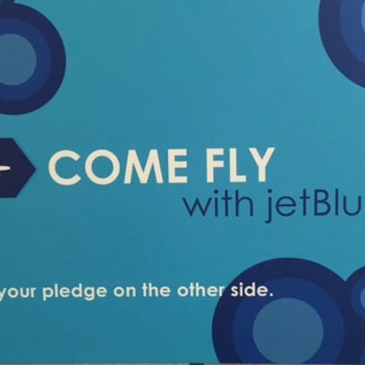 On Wednesday, the 'getBlue' pledge campaign was announced.