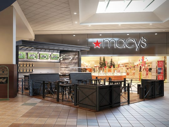 A rendering of what the beer kiosk in the Muncie Mall