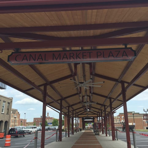 Tour Newark's new Canal Market District