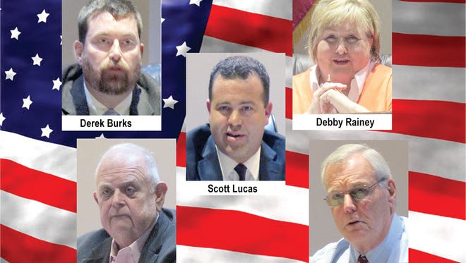 Five candidates in the running for three open seats on the Fairview City Commission.