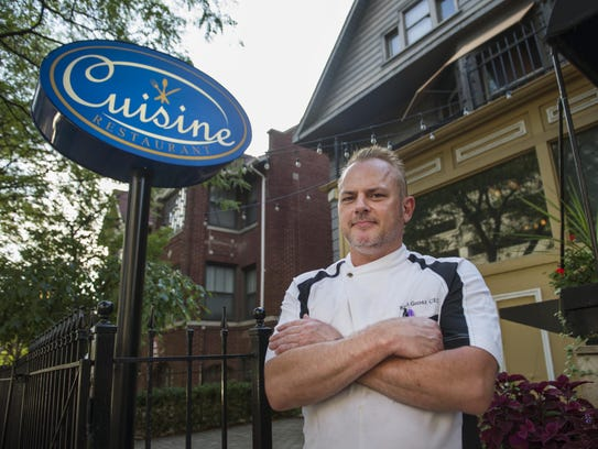 Chef Paul Grosz, whose background includes a 10 years
