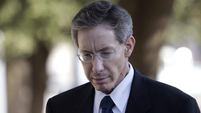 Warren Jeffs FILE - In this July 28, 2011 photo, Polygamist sect leader Warren Jeffs arrives at the Tom Green County Courthouse in San Angelo, Texas.   An internal struggle for control of   Jeffs' polygamous church could soon be settled by Utah commerce officials. In April, William E. Jessop filed papers with the state ousting Jeffs as president of the corporations that comprise the Fundamentalist Church of Jesus Christ of Latter Day Saints.  Wednesday, Aug. 3, 2011 is the deadline set by the Utah Department of Commerce for the sides to provide a resolution, or a court order settling the dispute.  Jeffs has led the church since 2002. He's currently on trial in Texas on sexual assault charges.  (AP Photo/Tony Gutierrez)
