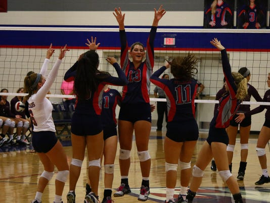 Volleyball-Veterans Memorial-Calallen 1