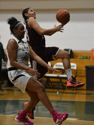 Jordan Rivera had 23 points and 11 rebounds as Clifton topped Passaic, 50-22.