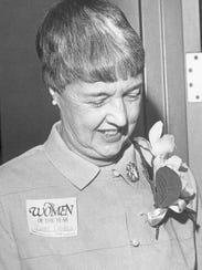 Betty Daniels, Enquirer Women of the Year 1986.