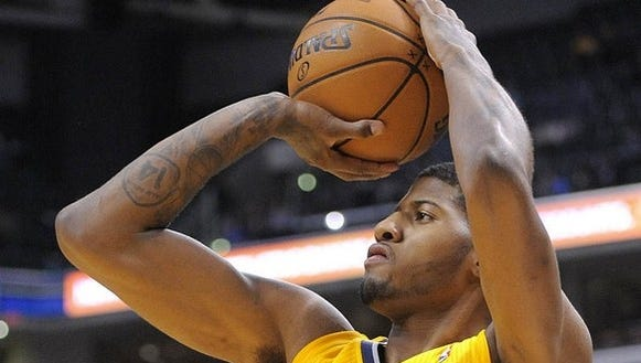 In a tweet, Paul George revealed he would play Sunday.