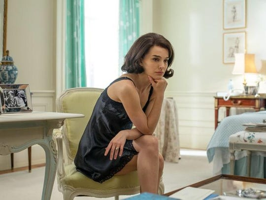 """Natalie Portman plays the emotionally shattered First Lady in """"Jackie."""""""