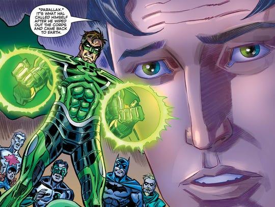 Kyle Rayner revisits Hal Jordan's days as Parallax