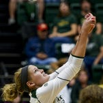 Colorado State's Acacia Andrews has been named the Mountain West Defensive Player of the Week.