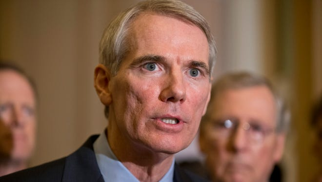 Sen. Rob Portman, R-Ohio, has seen his non-controversial energy efficiency bill dragged to a halt by a series of unrelated partisan fights.