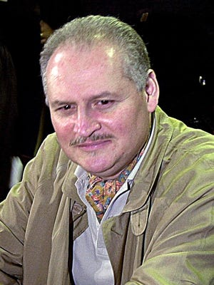 In this Tuesday, Nov. 28, 2000 file photo, Venezuelan international terrorist Carlos the Jackal whose real name is Ilich Ramirez Sanchez is seated in a Paris courtroom.