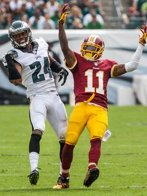 Washington wide receiver DeSean Jackson, shown scoring last season against his former team, is looking forward to facing the Eagles on Saturday.
