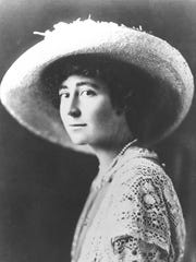 Jeannette Rankin was the first woman elected to Congress and a human rights activist.