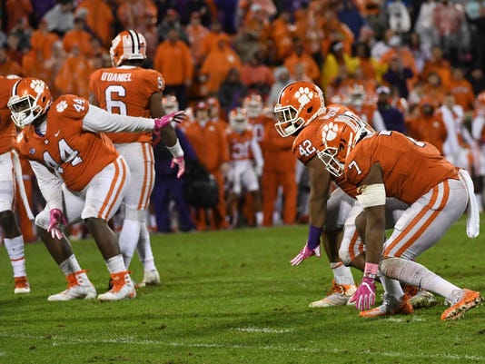 Clemson Georgia Tech football