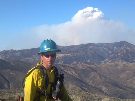 Greg Salansky is fire management officer for the Great