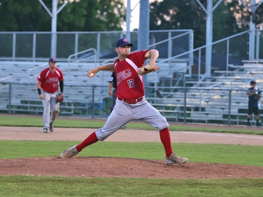 The Acadiana Cane Cutters take on the Texas Marshals at at Fabacher Field Monday, June 25, 2018.