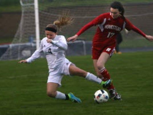 Ashley Mehl--Nicolet soccer