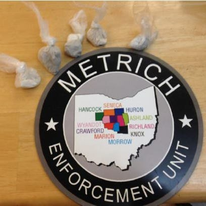 Narcotics seized by the MARMET Drug Task Force, from