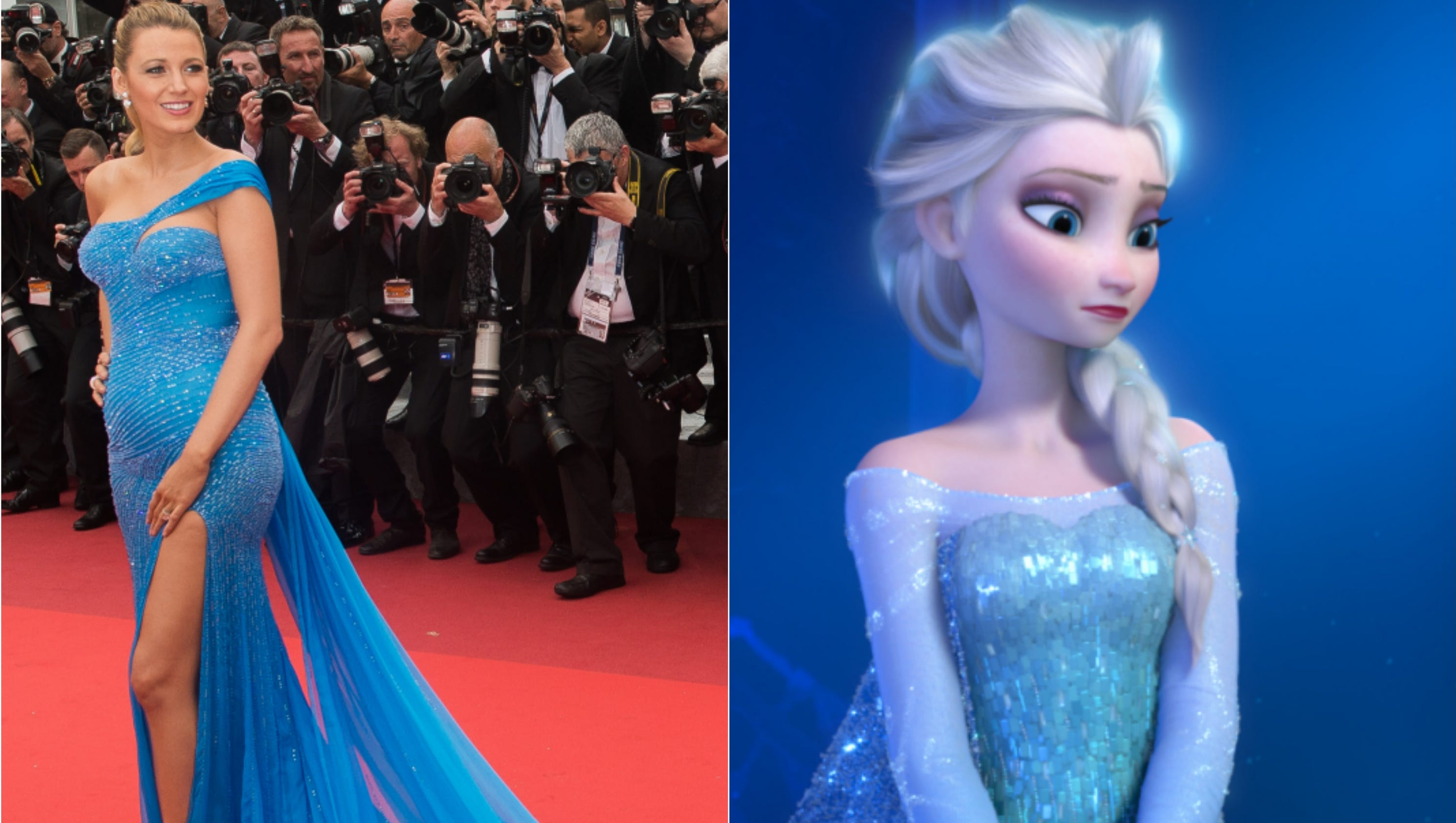 Blake Lively: The Disney princess of Cannes