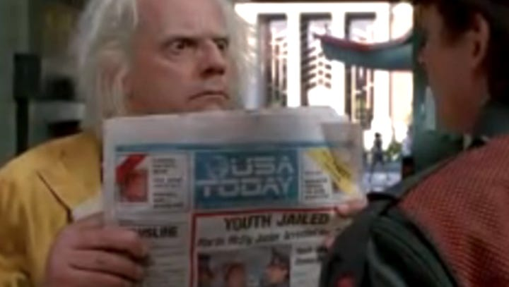 'Back to the Future' cast reunites to relive the past, 33 years later
