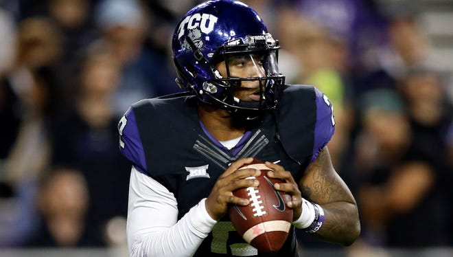 TCU quarterback Trevone Boykin is a leading contender for the Heisman Trophy.
