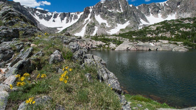 Hikers joined the Coloradoan on a 12-mile trek to Emmaline Lake in Roosevelt National Forest for the Xplore Summer Hiking Series Saturday, July 9, 2016. Join us on our next hike to The Loch in Rocky Mountain National Park July 23 for alpine lake fishing.