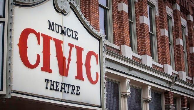 Muncie Civic Theatre in downtown Muncie Thursday.