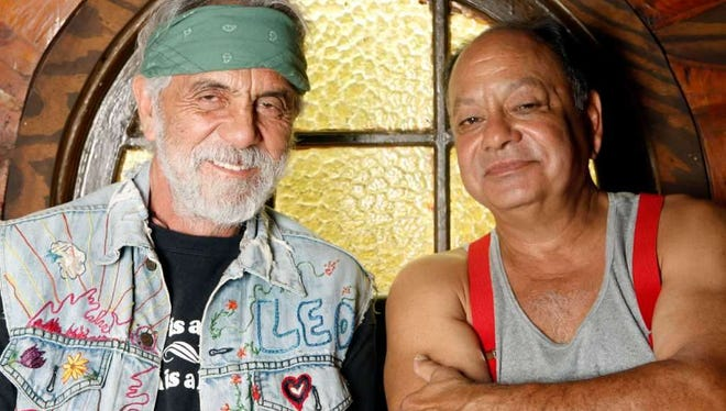 Tommy Chong and Cheech Marin have reunited for a tour, including a Saturday night performance at Golden Nugget Atlantic City.