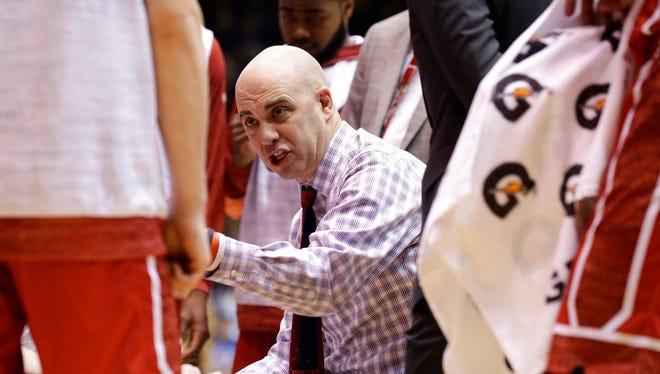USD coach Craig Smith