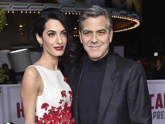 Amal Clooney,George Clooney