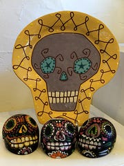 Animalia Pottery will be available at the Dia de los Muertos festival in Lincoln Saturday.